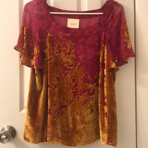 Anthropologie Maeve size small top